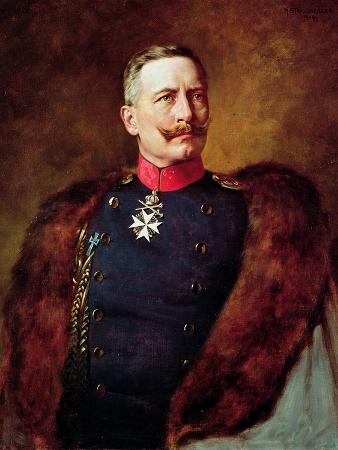 Portrait of Kaiser Wilhelm II (1859-1941)