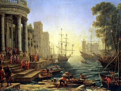 Seaport with the Embarkation of St. Ursula