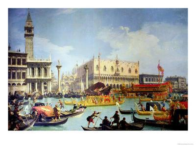 The Betrothal of the Venetian Doge to the Adriatic Sea, circa 1739-30