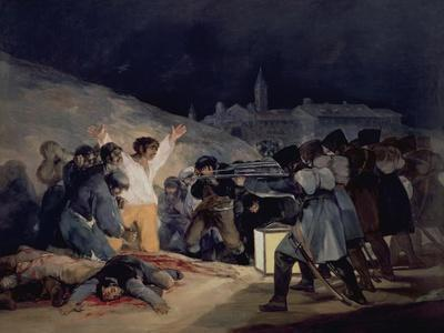 Execution of the Defenders of Madrid, 3rd May, 1808, 1814
