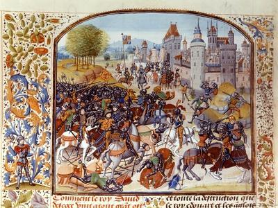 Battle of Neville's Cross from the Hundred Years War: a Diversionary Action by the French
