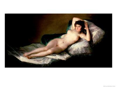 The Naked Maja, circa 1800