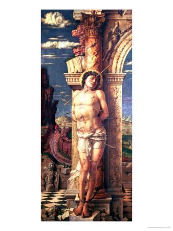 St. Sebastian, circa 1459