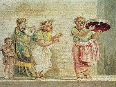 The Street Musicians, circa 100 BC