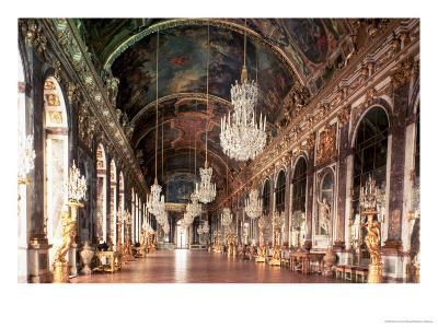 The Galerie Des Glaces (Hall of Mirrors) 1678-84