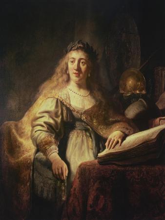 Saskia as Minerva