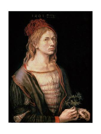 Self Portrait with a Thistle, 1493