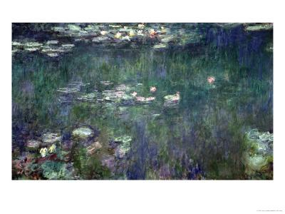 Waterlilies: Green Reflections, 1914-18 (Central Section)
