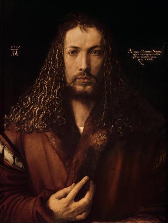 Self Portrait at the Age of Twenty-Eight, 1500