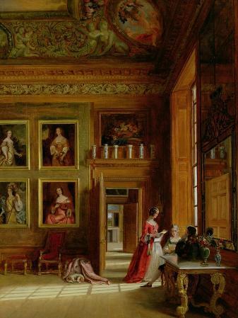 Hampton Court, 1849