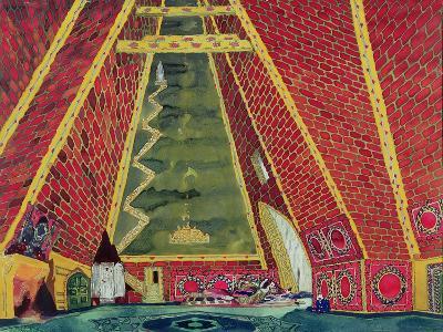 "Set Design for ""Thamar,"" 1912"