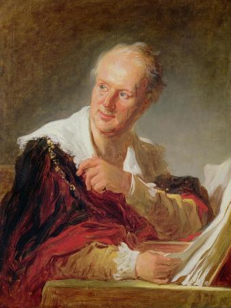 Portrait of Denis Diderot (1715-84) circa 1769