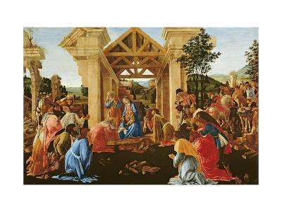 The Adoration of the Magi, 1481-82