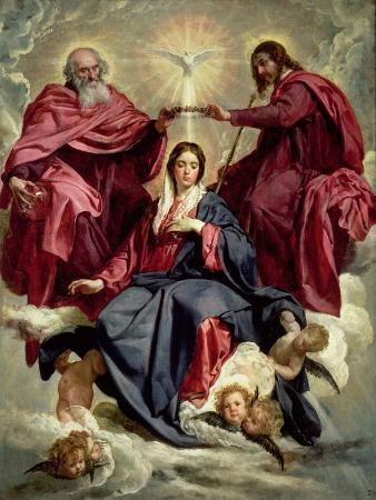 Coronation of the Virgin, circa 1641-42