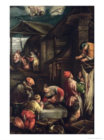 Winter, (The Butcher), 1585-90
