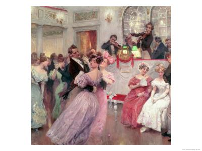 Strauss and Lanner, the Ball, 1906