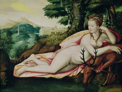 Diane De Poitiers (1499-1566) as Diana the Huntress