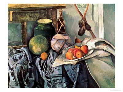 Still Life with Pitcher and Aubergines