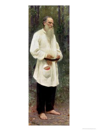 Portrait of Lev Tolstoy (1828-1910) 1901