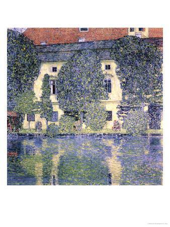 The Schloss Kammer on the Attersee, 1910