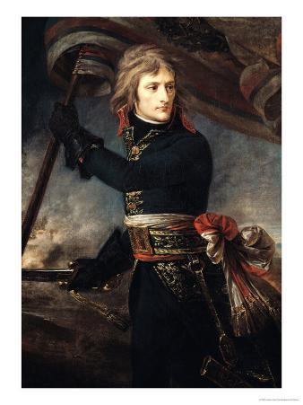 General Bonaparte (1769-1821) on the Bridge at Arcole, 17th November 1796