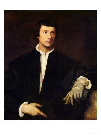 The Man with a Glove, circa 1520