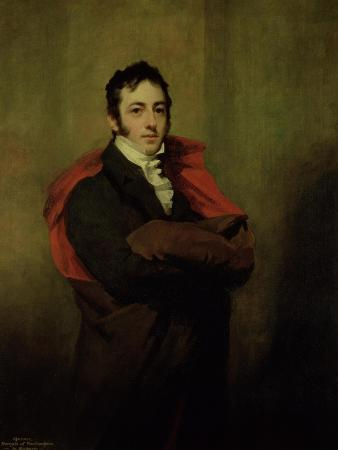 Spencer, 2nd Marquess of Northampton, 1821