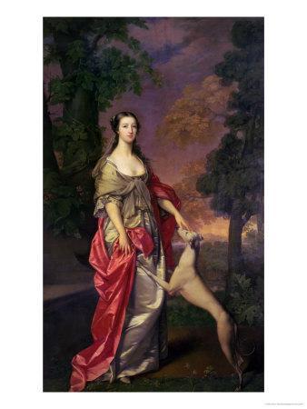Elizabeth Gunning, Duchess of Hamilton, 1752-3