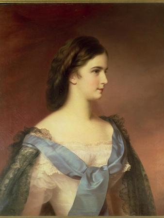 Empress Elizabeth of Bavaria (1837-98) as a Young Woman