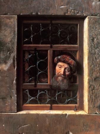 Man at a Window, 1653