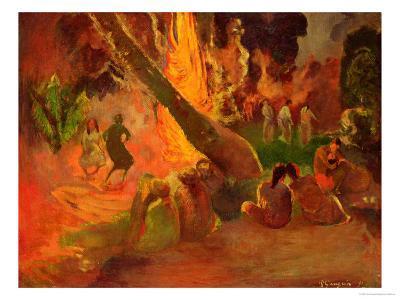 Upaupa (Tahitian Dance), 1891
