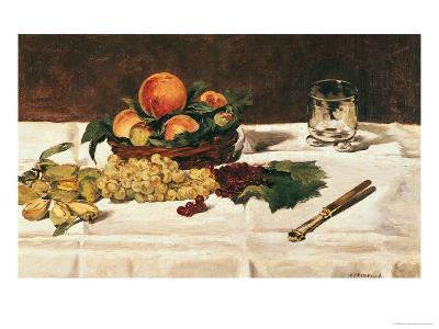 Still Life: Fruit on a Table, 1864