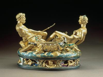 Salt Cellar or Saliera, Belonging to King Francis I of France of the Earth and Sea United