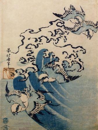 Waves and Birds, circa 1825