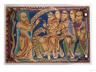 Plaque Depicting St. Paul Disputing with Greeks and Jews, Mid 12th Century