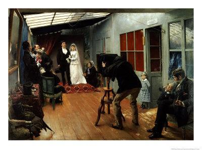 Wedding at the Photographer's, 1878-9