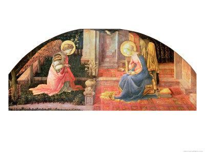 The Annunciation, circa 1450-3