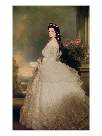 Elizabeth (1837-98), Empress of Austria, 1865