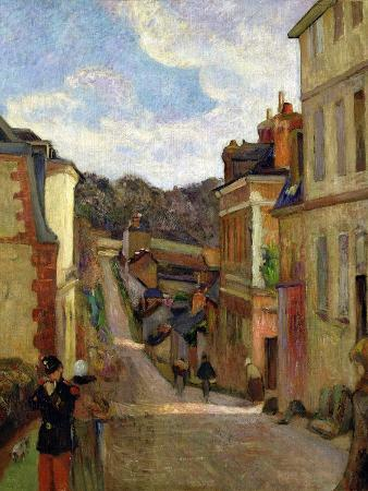 A Suburban Street, 1884