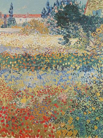 Garden in Bloom, Arles, c.1888