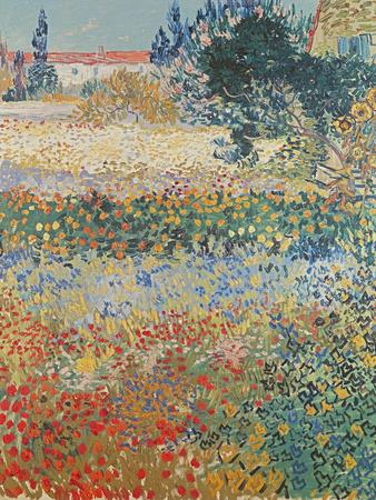 Garden in Bloom Arles, c.1888