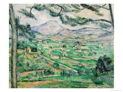 Montagne Sainte-Victoire, 1886-87