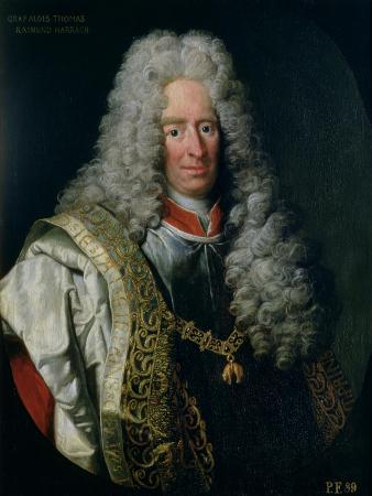Count Alois Thomas Raimund Von Harrach, Viceroy of Naples (1669-1742)