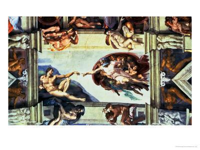 The Creation of Adam, c.1510