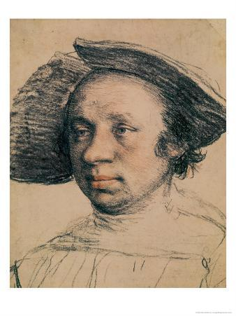Portrait of a Youth in a Broad-Brimmed Hat, circa 1524-26