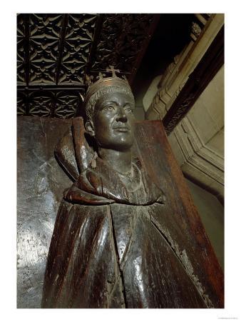 Effigy of Henry V (1387-1422) (Oak and Polyester Resin)