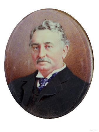 Cecil Rhodes (1853-1902) (Miniature)