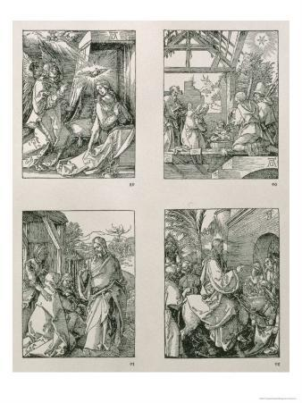"""The """"Small Passion"""" Series (Tl-Br): the Annunciation, the Adoration of the Shepherds"""