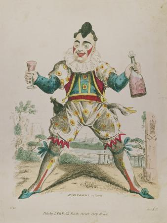 Mr. Grimaldi as Clown