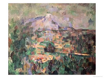 Montagne Sainte-Victoire from Lauves, 1904-06